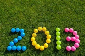 14851219-happy-new-year-2013-against-a-green-grass-background