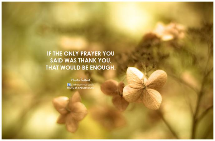 Meister-Eckhart-If-the-only-prayer-you-said-was-thank-you-that-would-be-enough