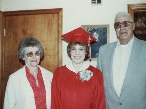 Amy HS graduation